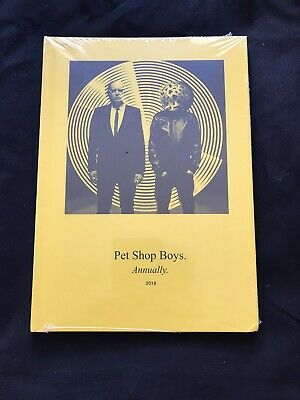 PET SHOP BOYS - ANNUALLY 2018 -Brand New And Sealed • 50£