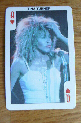 Tina Turner Dandy Bubble Gum Card 1987 • 1.50£