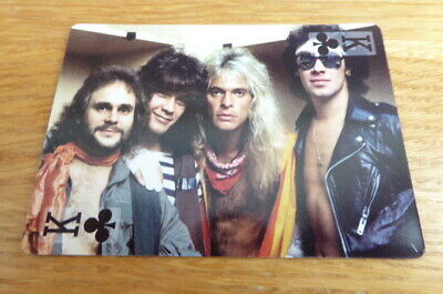 Van Halen Rock Stars Single Playing Card Mint • 3£