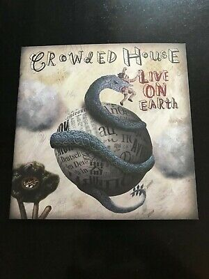Crowded House Live On Earth Official Tour Programme 2007 • 16.60£