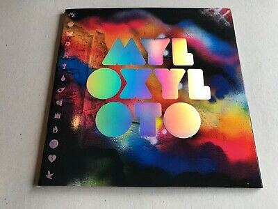 Coldplay Mylo Xyloto Official Tour Programme 2012 Memorabilia W/ Stickers NEW  • 13£