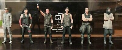 Staramba 3D Printed Figures 7cm RAMMSTEIN German Metal Band 8x Members New 4 • 35£