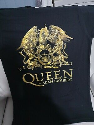 Queen And Adam Lambert Rhapsody Tour 2021size Medium • 11.98£