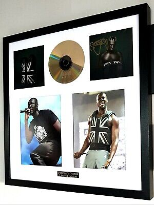 Stormzy Signed & Framed Original Card/Heavy Is The Head CD/LOOKS AMAZING  • 109.99£