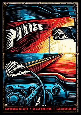 Reproduction Pixies Poster,  El Ray Theatre , Indie, Home Wall Art • 13.50£