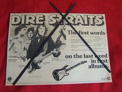 Dire Straits Original 1978 Vintage Music Press Advert Debut Album • 7.99£