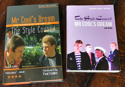 THE STYLE COUNCIL - MR COOL'S DREAM BOOKS - 2008 Revised Edition & 2014 Edition • 149.99£