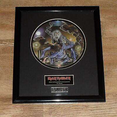 Framed Iron Maiden Picture Disc • 35£