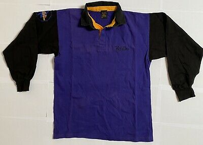 Phil Collins 1997 Dance Into The Light Tour Multi Rugby Top Official, Size M • 30£