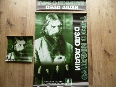 Type O Negative In Store Promo Posters 2007 • 20£