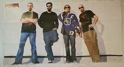 SYSTEM OF A DOWN Huge KERRANG Magazine Poster + A4 Poster • 6£