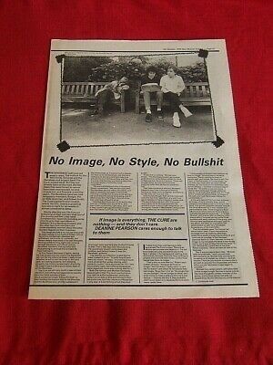 The Cure October 1979 Original Vintage Article Interview Clipping • 11.99£