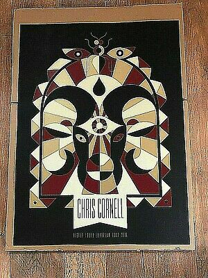 Chris Cornell Higher Truth European 2016 Official Tour Print / Poster NEW Rare • 13£