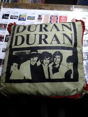 Duran Duran 10  Picture Pillow Cushion 1980s Vintage Small Tear To Front  • 8.99£