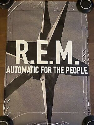 R.E.M. Automatic For The People SPOT GLOSS Poster - Great Condition. • 6.75£