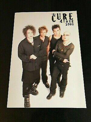 The Cure  4  Tour 2007/ 2008 Official Programme  RARE  Very Good Condition • 14£