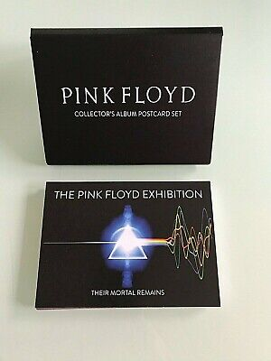 Pink Floyd Their Mortal Remains Collectors Album Postcard Set 16 In Set V&A 2017 • 12£