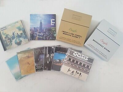 Oasis CD Collection Including Limited Editions & Overseas Releases • 55£