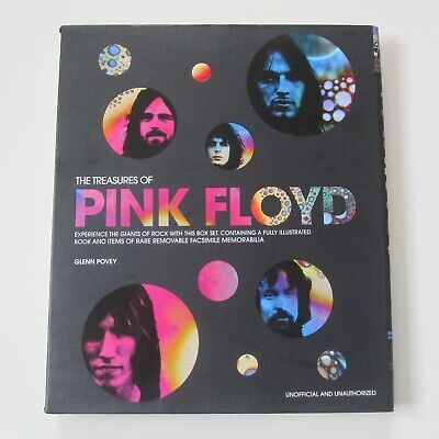 The Teasures Of Pink Floyd - Box Set Book  • 15£
