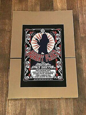 Robert Plant Sensational Space Shifters Official Concert Litho 2013 UK & Ireland • 15£