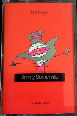 Jimmy Somerville - Mighty Real - Cassette Single - Tested • 5.29£