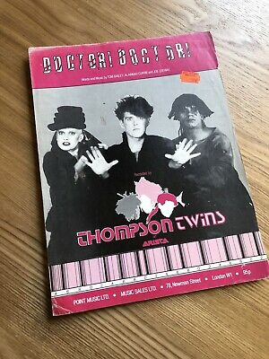 Thompson Twins 'Doctor Doctor' - Sheet Music • 10£