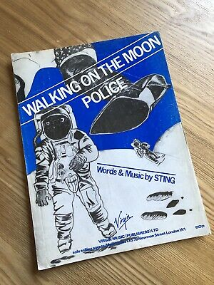 The Police 'Walking On The Moon' Sheet Music • 8£