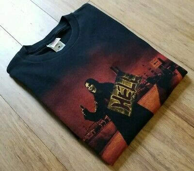 90s Vintage XL USA Made 1997 Ozzy Osbourne Hitch Hiking To Hell Tour TShirt Tee • 147.26£