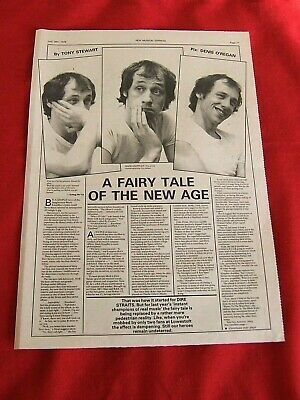 Dire Straits Mark Knopfler Original 1978 Music Press Interview Article Clipping • 9.99£