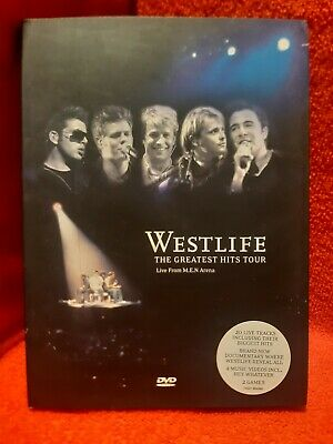 Westlife - Greatest Hits Tour (DVD, 2003) Live From M.E.N   Arena  • 2£