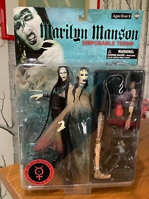 Marilyn Manson Disposable Teens Collectable Figure By Fewture RARE • 98.95£