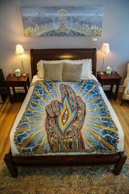 TOOL - Alex Grey Blessing Hand Art Blanket - SOLD OUT - LATERALUS  • 250£