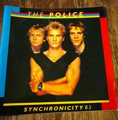 The Police - Synchronicity 1983 Tour Programme Book • 4.99£