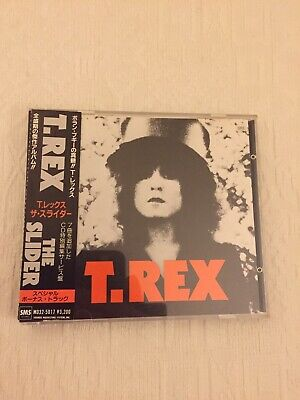 T.rex The Slider Early Japanese Cd Release Cd Has Deteriorated And Skips • 12£