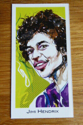 Jimi Hendrix Card #6 Legends Of Rock By Good Times Creations • 2.50£