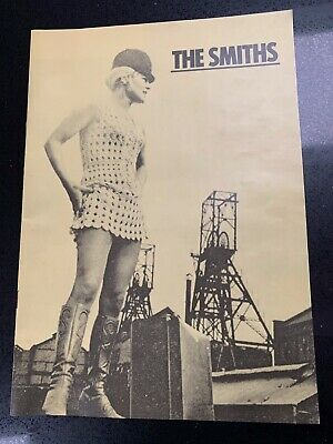 The Smiths Tour Programme  Meat Is Murder UK Tour 1985 Morrissey • 40£