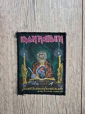 IRON MAIDEN SEVENTH SON Patch 1988 Vintage Official 80'S Rare  • 8.50£