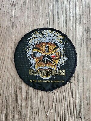 IRON MAIDEN SEVENTH SON Patch 1988 Official Vintage 80'S Rare  • 8.50£