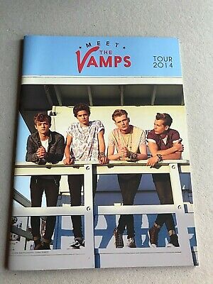 The Vamps Official Concert Tour Programme 2014 Meet The Vamps • 14£