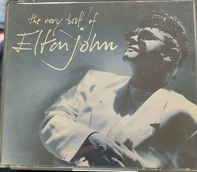 Elton John The Very Best Of Double 1990 CDs 💿💿 Posted 2Nd Class Signed For • 2£