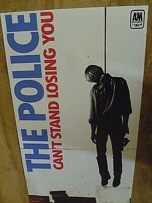 The Police  Reproduction 'can't Stand Losing You' Banner Poster, 65 Cm X 35 Cm • 15£
