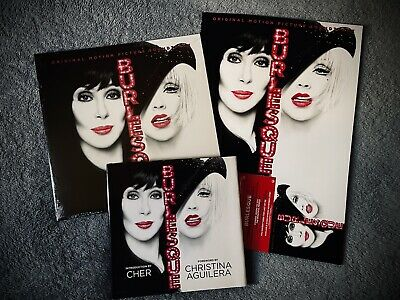 🔥 RARE 🔥 The Ultimate #BURLESQUE Movie Bundle - Christina Aguilera & Cher • 71.53£