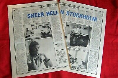 Abba 1978 Original Vintage Clippings Cutting Interview Article  • 12.99£