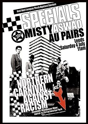 Reproduction Alternate  The Specials - Northern Carnival  Poster, Punk, Size A2 • 18.99£