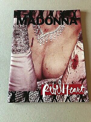 MADONNA Rebel Heart World Tour 2015-2016 Official Concert Programme Mint  • 25£