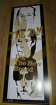 The Jam Alternate 'dig The New Breed' Banner Style Poster.75 Cm X 30 Cm • 15£