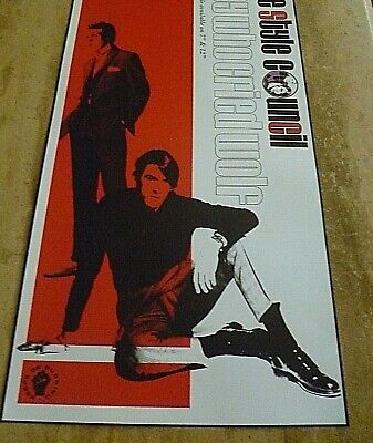 The Style Council  Alternate 'boy Who Cried Wolf' Banner Poster. 75 Cm X 40 Cm • 15£