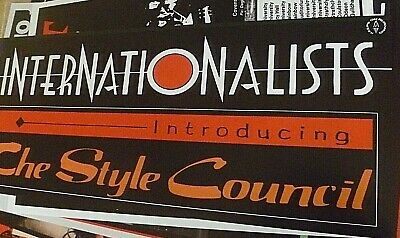 The Style Council Alternate 'internationalists' Banner Style Poster, 70 Cm X 30  • 15£