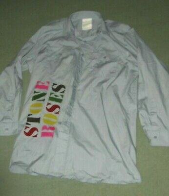 STONE ROSES. Mens  MILITARY STYLE   Shirt  . HAND PAINTED  CHEST 38INS • 19.99£