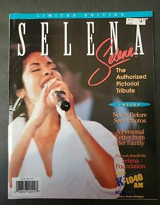 '95 Selena Quintanilla Authorized Pictorial Tribute Limited Edition Magazine HEB • 23.63£